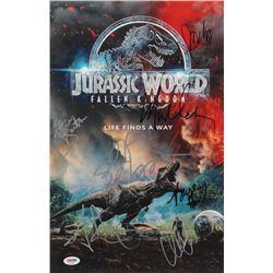 """Jurassic World: Fallen Kingdom"" 11x17 Photo Cast-Signed by (8) with Chris Pratt, Bryce Dallas Howar"