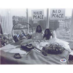 Yoko Ono Signed 8.5x11 Photo (PSA COA)