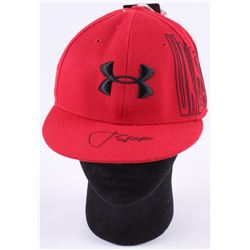Jordan Spieth Signed Under Armour Fitted Baseball Hat (PSA COA)