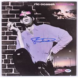 "Ric Ocasek Signed ""Beautitude"" Vinyl Record Album (PSA Hologram)"