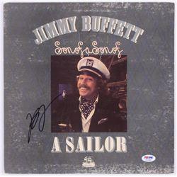 "Jimmy Buffett Signed ""Son of a Son of a Sailor"" Vinyl Record Album (PSA COA)"