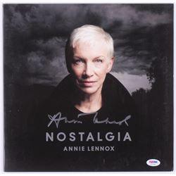 "Annie Lennox Signed ""Nostalgia"" Vinyl Record Album (PSA COA)"