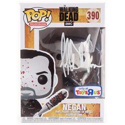 """Jeffrey Dean Morgan Signed The Walking Dead """"Negan"""" #390 Funko Pop Vinyl Figure (Radtke COA)"""