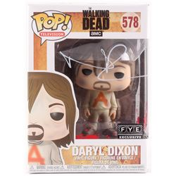 "Norma Reedus Signed ""The Walking Dead"" Daryl Dixon #578 Funko Pop! Vinyl Figure (Radtke Hologram)"