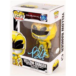 """Becky G Signed """"Power Rangers"""" Yellow Ranger #398 Funko Pop! Vinyl Figure (JSA COA)"""