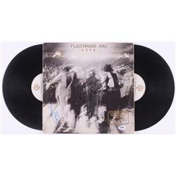 "Lindsey Buckingham  Christine McVie Signed Fleetwood Mac ""Live"" Vinyl Record Album Inscribed ""Thank"