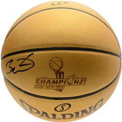 "Dwyane Wade Signed ""The Champions"" Gold Spalding Basketball (Fanatics Hologram)"