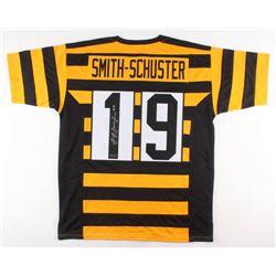 JuJu Smith-Schuster Signed Pittsburgh Steelers Throwback Jersey (Radtke COA)