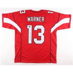 Kurt Warner Signed Arizona Cardinals Jersey (Radtke COA)