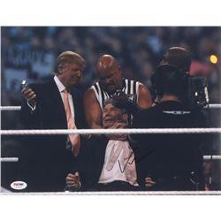 "Vince McMahon Signed ""WWE"" 11x14 Photo (PSA COA)"