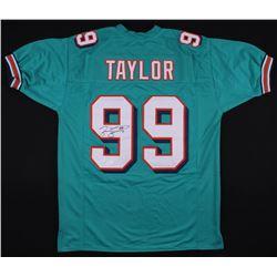 Jason Taylor Signed Miami Dolphins Jersey (JSA COA)