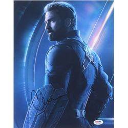 "Chris Evans Signed ""The Avengers"" 11x14 Photo (PSA COA)"