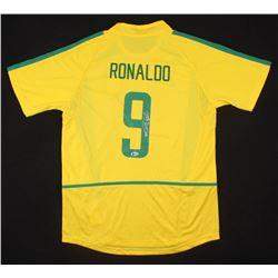 Ronaldo Signed Brazil Jersey (Beckett COA)