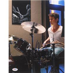 """Miles Teller Signed """"Whiplash"""" 11x14 Photo (PSA COA)"""