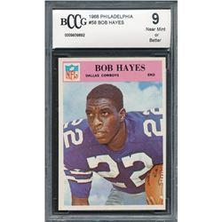 1966 Philadelphia #58 Bob Hayes RC (BCCG 9)