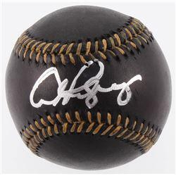 Alex Rodriguez Signed OML Baseball (PSA COA)
