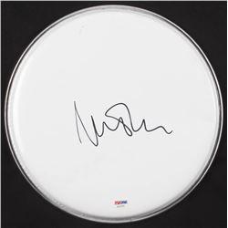 Nick Mason Signed Drum Head (PSA COA)