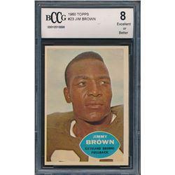 1960 Topps #23 Jim Brown (BCCG 8)