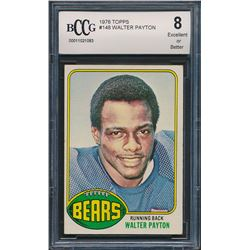 1976 Topps #148 Walter Payton RC (BCCG 8)