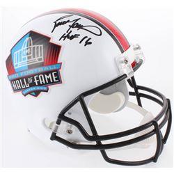 """Brett Favre Signed Hall of Fame Full-Size Helmet Inscribed """"HOF 16"""" (Radtke COA)"""