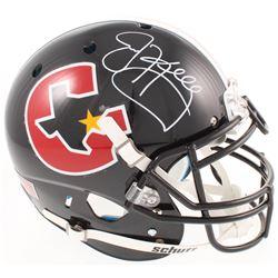 Jim Kelly Signed Houston Gamblers Full-Size Authentic On-Field Helmet (Radtke COA)