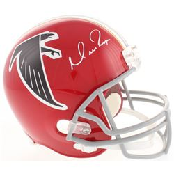 Matt Ryan Signed Atlanta Falcons Throwback Full-Size Helmet (Fanatics Hologram)