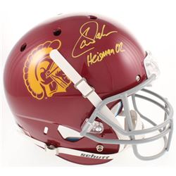 "Carson Palmer Signed USC Trojans Full-Size Helmet Inscribed ""Heisman 02"" (Beckett COA)"