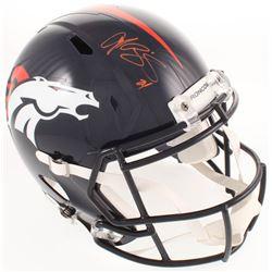 Champ Bailey Signed Denver Broncos Full-Size Speed Helmet (Radtke COA)