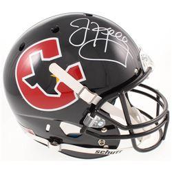 Jim Kelly Signed Houston Gamblers Full-Size Helmet (Radtke COA)