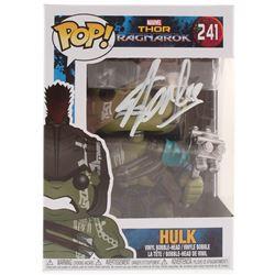 "Stan Lee Signed ""Thor Ragnarok"" Gladiator Hulk Funko Pop! Vinyl Figure (Radtke COA  Lee Hologram)"