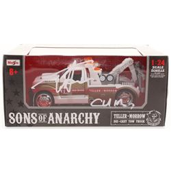 """Tommy Flanagan Signed """"Sons of Anarchy"""" 1:24 Die Cast Tow Truck Inscribed """"Chibs"""" (Radtke COA)"""