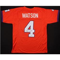 Deshaun Watson Signed Clemson Tigers Jersey (Beckett COA)