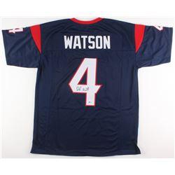 Deshaun Watson Signed Houston Texans Jersey (Beckett COA)