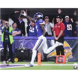 Stefon Diggs Signed Minnesota Vikings 16x20 Photo (TSE COA)