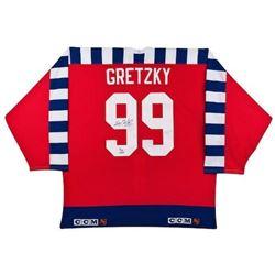 Wayne Gretzky Signed Limited Edition 1992 All Star Jersey (UDA COA)