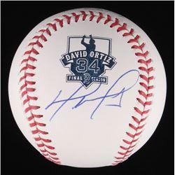 David Ortiz Signed OML Baseball (Fanatics Hologram  MLB Hologram)