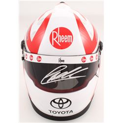 Christopher Bell Signed NASCAR Rheem 1:3 Scale Mini-Helmet (PA COA)
