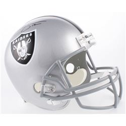 Rich Gannon Signed Oakland Raiders Full-Size Helmet (Beckett COA)