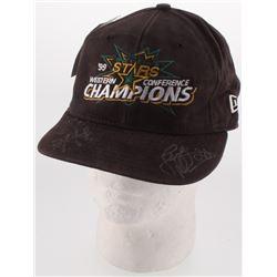 Jere Letinen  Darryl Sydor Signed Dallas Stars 1999 Western Conference Champions Adjustable Hat (JSA