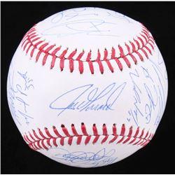 2014 New York Yankees OML Baseball Signed by (22) with Derek Jeter, C.C. Sabathia, Ichiro Suzuki, Ca