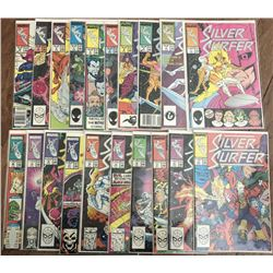 """Run of (82) 1987 """"Silver Surfer"""" 2nd Series Marvel Comic Books with #1-82"""
