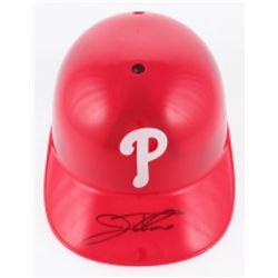 Jim Thome Signed Philadelphia Phillies Full-Size Replica Batting Helmet (Beckett COA)