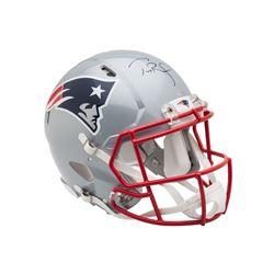 Tom Brady Signed New England Patriots Full-Size Authentic On-Field Helmet (UDA COA)
