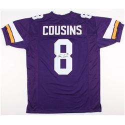 Kirk Cousins Signed Minnesota Vikings Jersey (JSA COA)