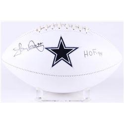 "Tony Dorsett Signed Dallas Cowboys Logo Football Inscribed ""HOF '94"" (JSA COA)"