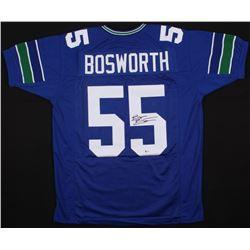 Brian Bosworth Signed Seattle Seahawks Jersey (Beckett COA)