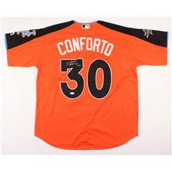 Michael Conforto Signed 2017 All-Star Game Batting Practice Jersey (PSA COA)