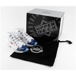 Pair of (2) Allen Iverson Signed Limited Edition Reebok Shoes (UDA COA)