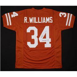 "Ricky Williams Signed Texas Longhorns Jersey Inscribed ""Heisman 98"" (JSA COA)"