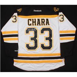 Zdeno Chara Signed Boston Bruins Captain's Jersey (Chara COA)